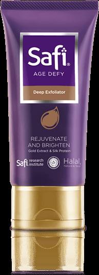 Skincare Halal Anti Aging Pembersih Wajah - Safi Age Defy Deep Exfoliator