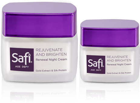 Skincare Halal Anti Aging Pembersih Wajah - Safi Age Defy Renewal Night Cream  20 gr