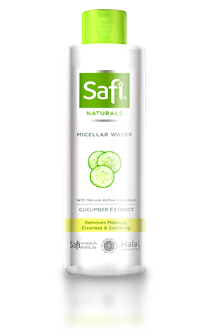 - Safi Naturals Micellar Water with Cucumber Extract 100ml