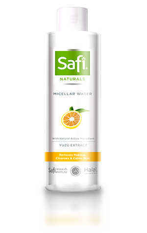 - Safi Naturals Micellar Water with Yuzu Extract 200ml