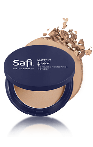 - Safi Beauty Perfect Poreless Foundation Powder Sand
