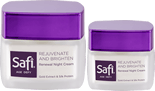 Skincare Halal Anti Aging Kecantikan Kulit - Safi Age Defy Renewal Night Cream  40 gr
